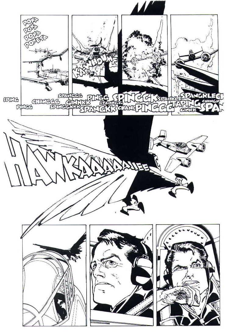 howard chaykin comic cover art