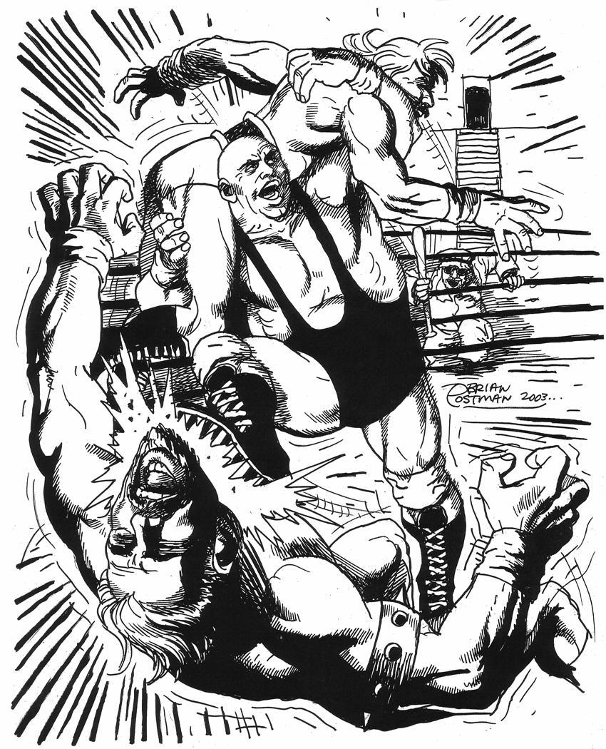 king kong bundy brawl